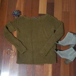 Vince Brown sweater top